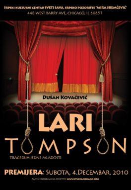Predstava: Lari Tompson, December 2010