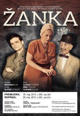 Predstava: Žanka, May 2013